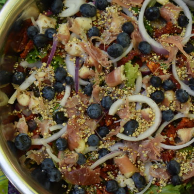 Asparagus and Blueberry Salad