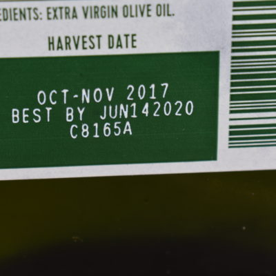 Does That Bottle Really Contain Extra Virgin Olive Oil?
